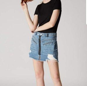 Blank NYC Hyped Up denim skirt